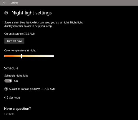 Make Video Chats Look Better with Your Computer's Night Mode