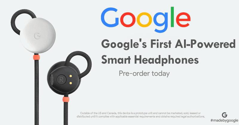 Meet The Google's First AI-Powered Smart Headphones