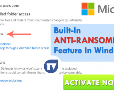 Microsoft Just Introduced Anti-Ransomware Feature In Windows 10 With Fall Creators Update