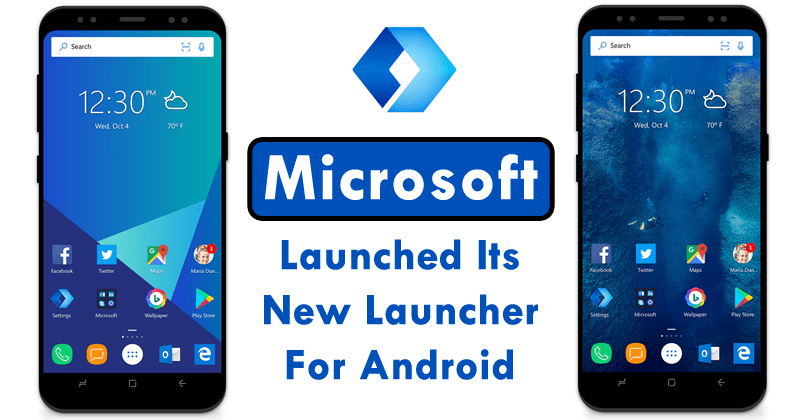 Microsoft Just Launched Its New Launcher For Android