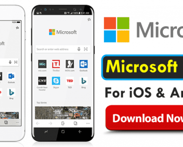 Microsoft Just Launched The Edge Browser For iOS And Android