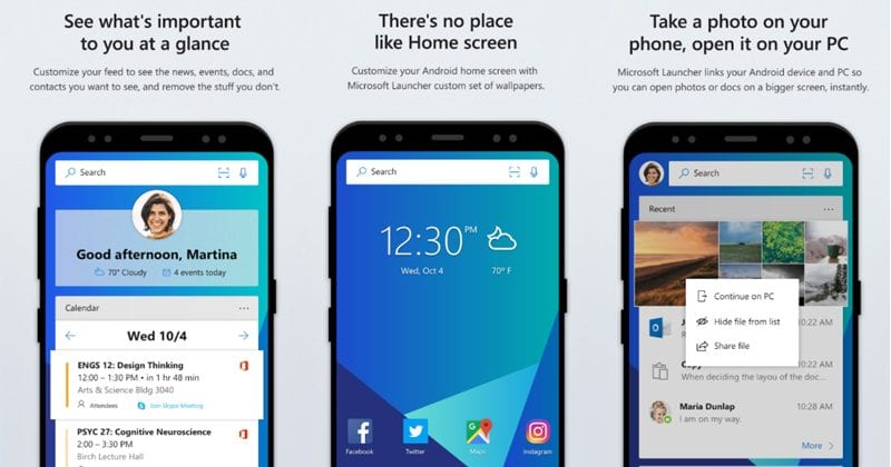 Microsoft Launcher Starts Rolling Out To All Users