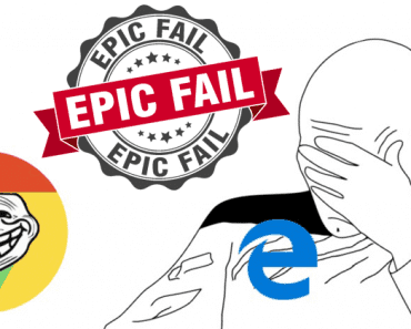 Epic Fail: Microsoft Presenter Gives Up On Edge, Installs Google Chrome