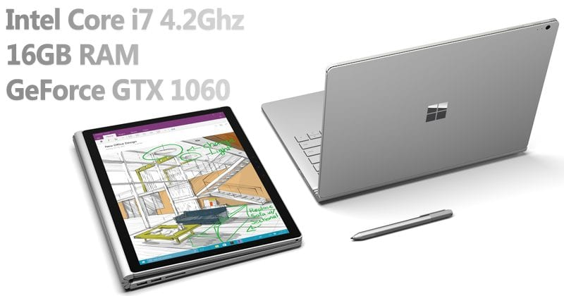 Microsoft Launched Surface Book 2