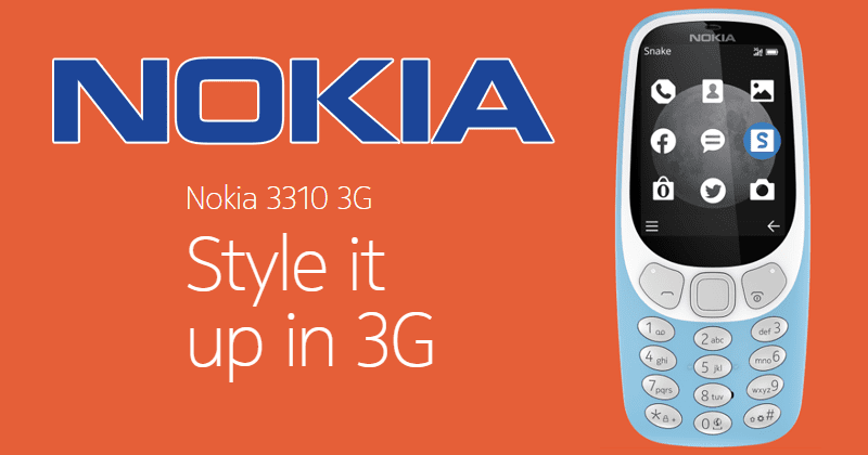 Meet The New Iconic Nokia 3310 3G - For The Originals