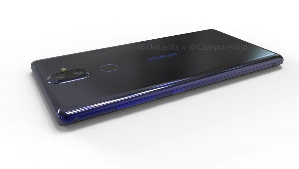 Nokia 9 2 1024x580 - Nokia 9 Leaked Image Confirms Dual-Camera Setup, Rear-Mounted Fingerprint Reader