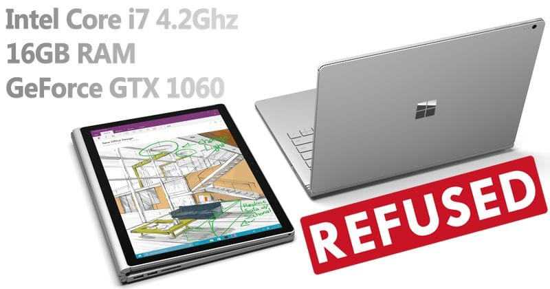 OMG! Consumer Reports Refuses To Recommend Microsoft Surface Book 2