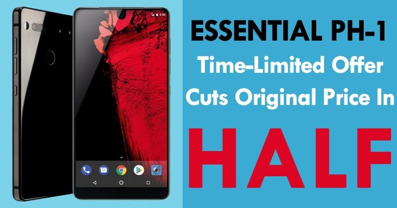 OMG! Essential PH-1 Time-Limited Offer Cuts Original Price In HALF