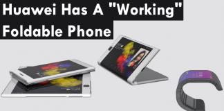 "OMG! Huawei Has A ""Working"" Foldable Phone"