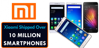 OMG! Xiaomi Shipped More Than 10 Million Smartphones Last Month
