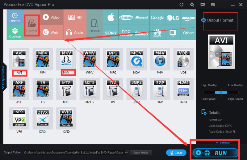 Picture 2 - Review: Rip DVDs in a Blink of Eyes with WonderFox DVD Ripper