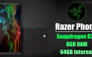 Razer's First Phone To Feature Snapdragon 835, 8GB RAM, 64GB Internal