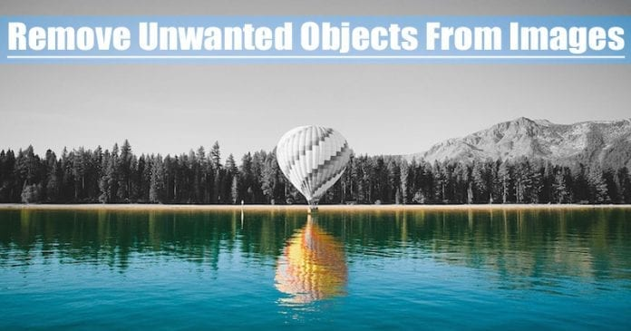How To Remove Unwanted Objects From Images (Android)