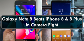 Samsung Galaxy Note 8 Beats iPhone 8 & 8 Plus In Camera Fight
