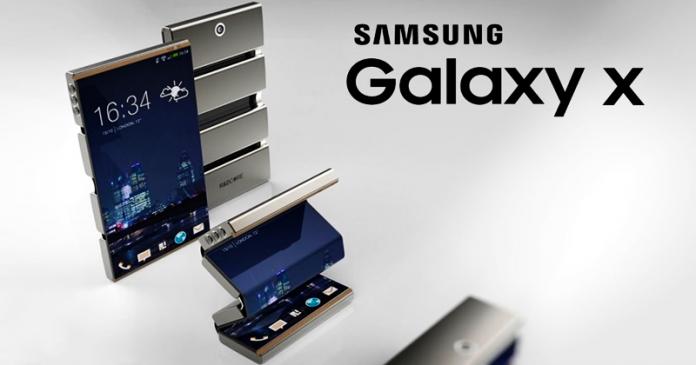 Samsung Galaxy X Leak Shows Off Incredible Folding Smartphone Design