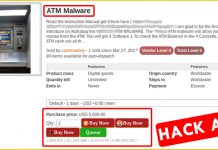 This Dangerous Malware Allows Anyone To Empty ATMs—And It's On Sale!