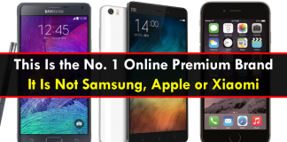 This Is the No. 1 Online Premium Brand: It Is Not Samsung, Apple or Xiaomi