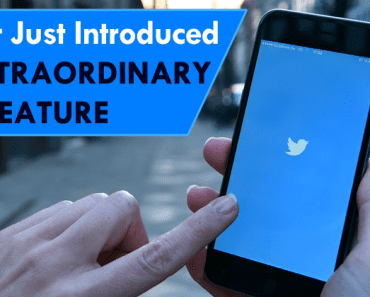 Twitter Just Introduced An Extraordinary New Feature