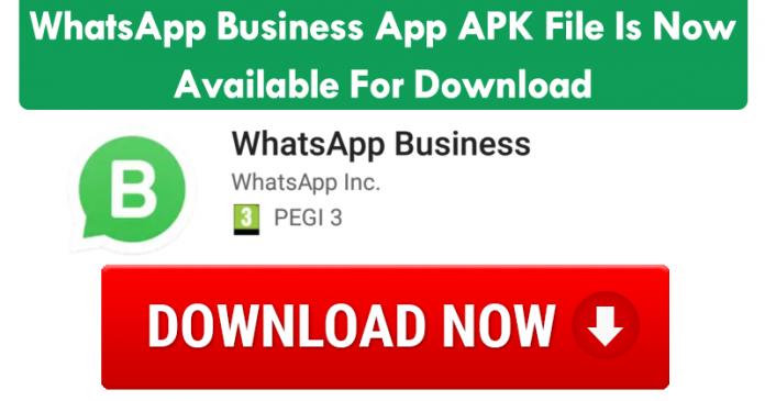 whatsapp business app apk download