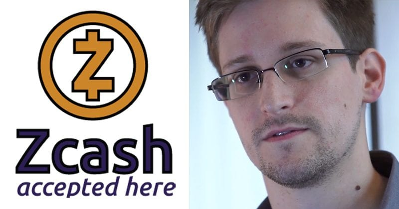 Edward Snowden: Zcash Is The