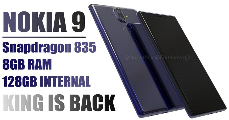 Nokia 9: Leaked Images Reveal Curved Glass Front Display