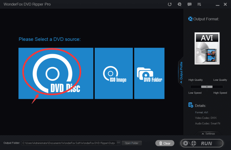 picture 1 - Review: Rip DVDs in a Blink of Eyes with WonderFox DVD Ripper
