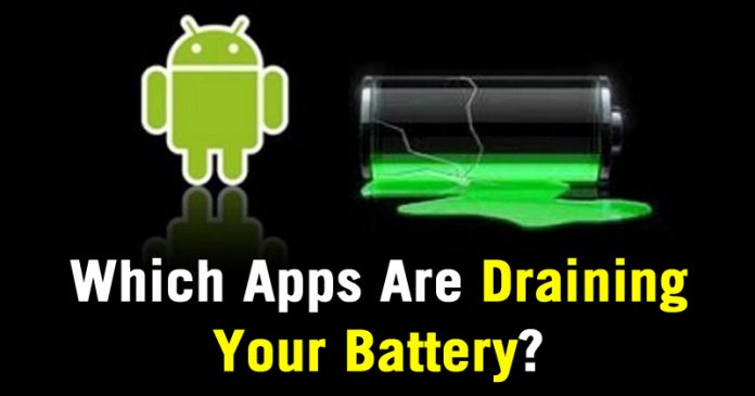 android will now show you which apps are draining your battery