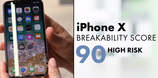 Apple iPhone X Is The Most Breakable Smartphone Ever