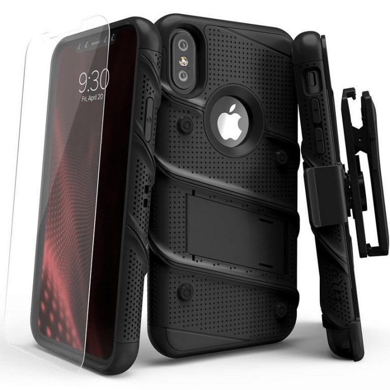 BOLT IPHX Black Black 1 - Best iPhone X Cases That You Can Get Right Now
