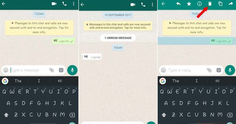 Here's How You Can Delete WhatsApp Messages Even After 7 Minutes