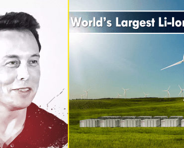 Elon Musk Has Finished Building World's Largest Li-Ion Battery