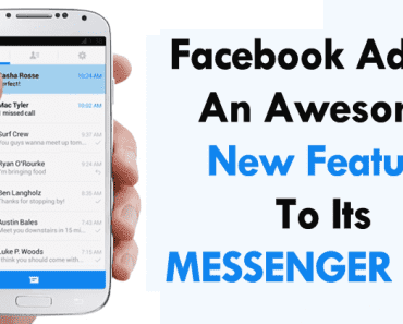 Facebook Just Added An Awesome New Feature To Its Messenger App