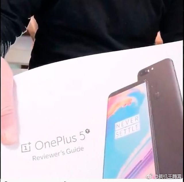 IMG 1 6 - OnePlus 5T Full Body Image Leaked Online