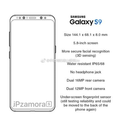 IMG 2 6 1 - OMG! Galaxy S9 To Have Unprecedented Screen-To-Body Ratio