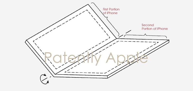 IMG 4 4 - Apple Files Patent For Foldable iPhone