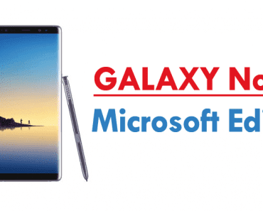 Microsoft Is Selling Its Own Samsung Galaxy Note 8 Microsoft Edition