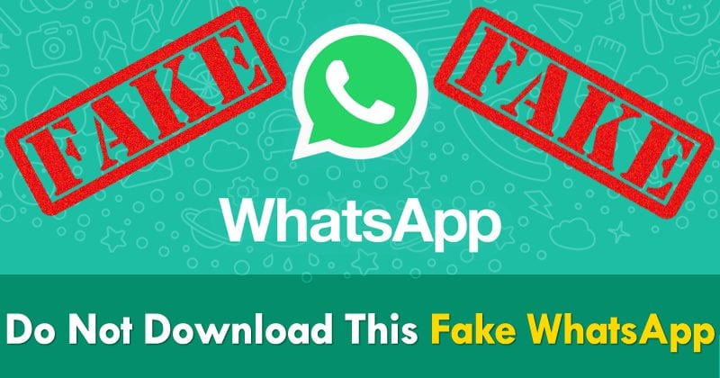 More Than 1 Million People Downloaded This Fake WhatsApp App