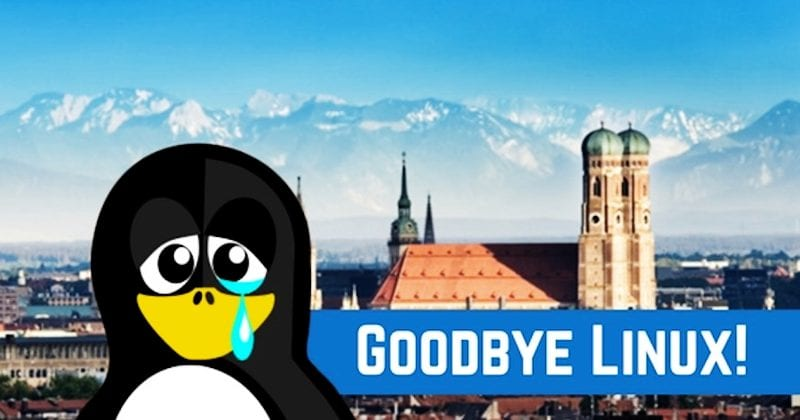 Munich Ends Its Long-Running Love Affair With Linux
