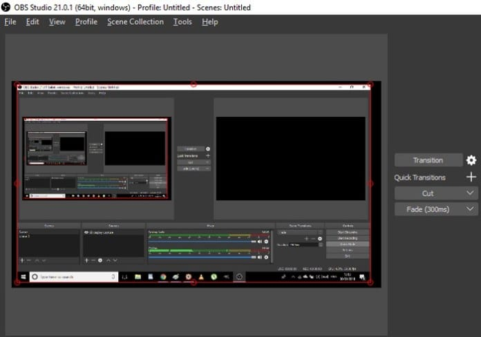 how to use obs studio to record screen