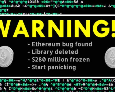 OMG! A Developer's Coding Mistake Has Frozen $280 Million In Ethereum