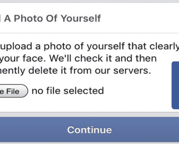 OMG! Facebook's Creepy Captcha Test Is Forcing Users To Upload Selfies