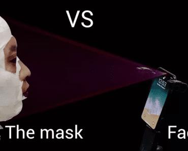 OMG! Mask Fools Apple iPhone X's Face ID