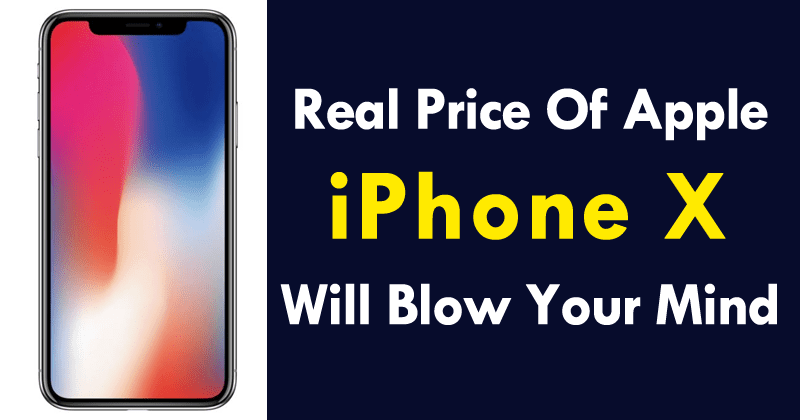 OMG! The Real Price Of iPhone X Will Blow Your Mind The tech giant Apple's iPhone X was officially launched on November 3, although its booking period began on 27 October. However, recently, the total costs of manufacturing hardware components of the iPhone X have been filtered and the real price of iPhone X will simply blow your mind. OMG! The Real Price Of iPhone X Will Blow Your Mind Today the total costs of manufacturing hardware components of the iPhone X have been filtered. Although it is an estimate, they are very accurate. Do you want to know what it costs for Apple to make an iPhone X? The tech giant Apple's iPhone X was officially launched on November 3, although its booking period began on 27 October. The smartphone of the Cupertino company is available from 999 dollars (United States). TechInsights estimates, shared via Reuters, indicate that most of the hardware components of the iPhone X are more expensive than those of the iPhone 8. How much does it cost Apple to make an iPhone X? The manufacture of Apple's new iPhone X costs $357.50. With this estimate, and with a price (without export taxes abroad) of $999, the iPhone X has a margin of 64%, higher than the margin of 59% of the iPhone 8. For example, the 5.8-inch OLED screen of the iPhone X has an estimated cost of $65.50. On the other hand, the LCD screen of the iPhone 8 costs 36 dollars. The stainless steel chassis of the iPhone X costs approximately $36, while the iPhone 8 case costs only $21.50. After the launch of the iPhone 8, estimates suggested that the total cost of its components was $247.51. As for the iPhone 8 Plus, the costs amounted to $288.08. These estimates were shared by IHS Markit. It is important to note that, in addition to paying the cost of each of the hardware components of the iPhone X, the bitten Apple company must spend money on R&D resources, design, engineering, marketing, manufacturing, assembly, software, taxes. So, what do you think about this? Do you think the iPhone 
