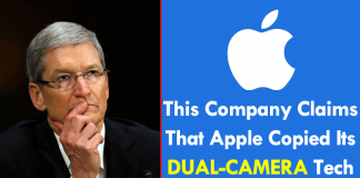 OMG! This Company Claims That Apple Copied Its Dual-Camera Technology