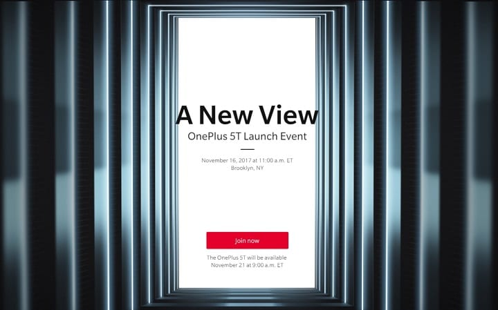 OnePlus 5T - OnePlus Officially Confirmed OnePlus 5T Launch Event Date