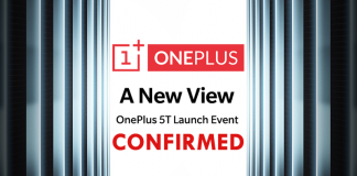 OnePlus Officially Confirmed OnePlus 5T Launch Event Date