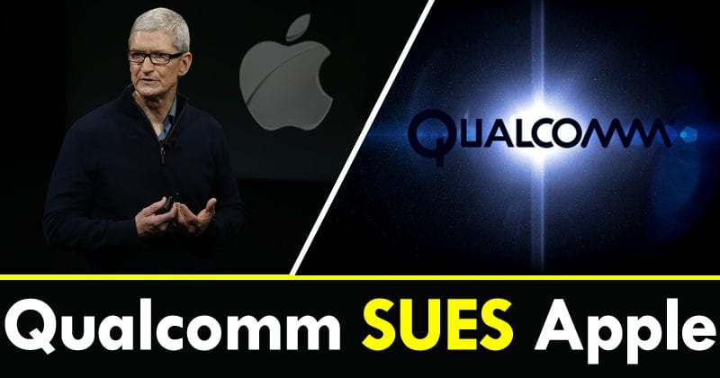 Qualcomm Sues Apple For Sharing Proprietary Code With Intel