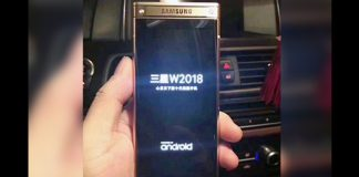 This Is Samsung's Upcoming Flip Phone SM-W2018