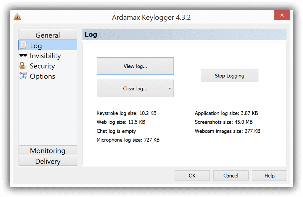 ardamax 1024x667 - Top 6 Best Free Keylogger for Windows