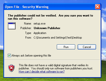 Make Sure a File is Safe Before Downloading